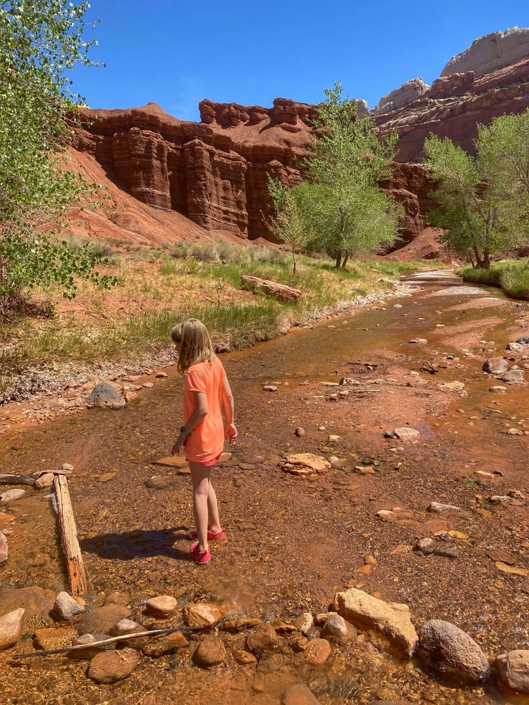 best hiking trails for kids capitol reef