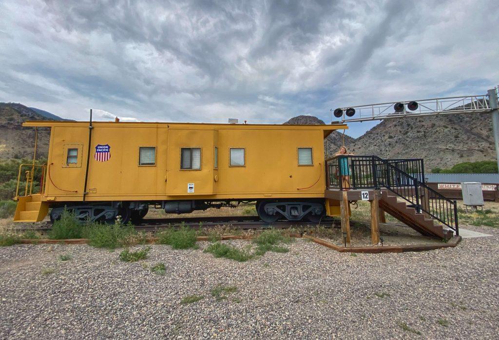 train hotel in utah