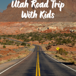 mighty 5 road trip with kids itinerary