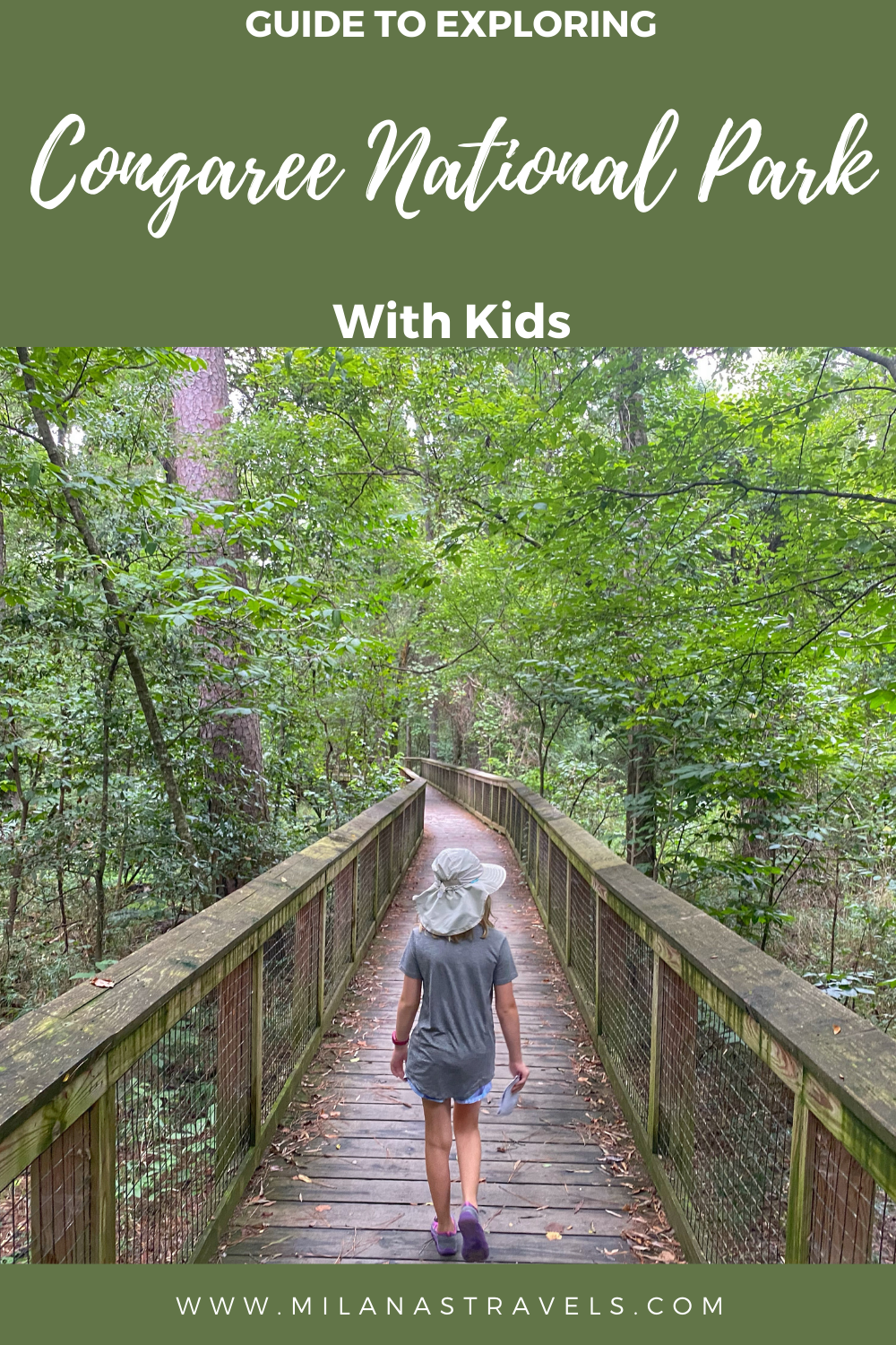 visiting congaree national park with kids