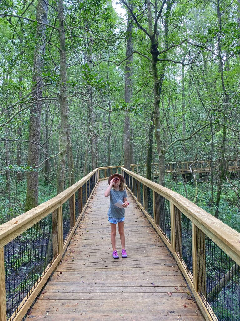 what to do in congaree national park with kids
